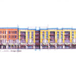 MacknightArchitects-JeffersonClintonCommons-ElevationStudy02