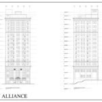 Macknight Architects - Lincoln Alliance - Main Street Elevation