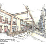 Macknight Architects - Lincoln Alliance - Second Floor Perspective