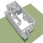 Macknight Architects - NWS Artist, live / work studio 3D Model