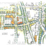 Macknight Architects - Seminary Commons, Site Plan