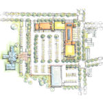 Macknight Architects - Seminary Commons, SitePlan 002